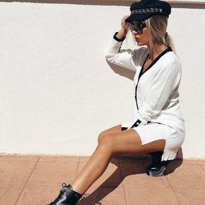 ZARA Bloggers Favorite Vent Cardigan Dress
